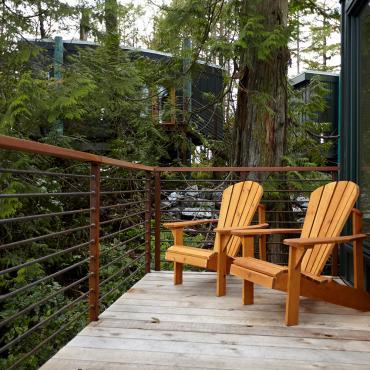 Middle Beach Lodge Treehouse Balcony
