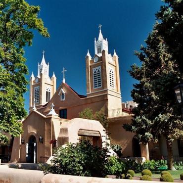 San Felipe Church ABQ