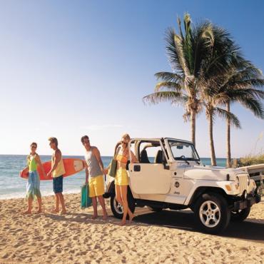 Alamo Jeep on FL Beach