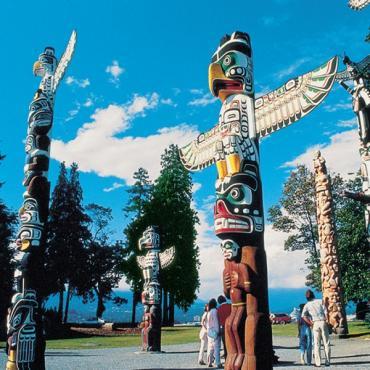 Totem Pols Vancouver