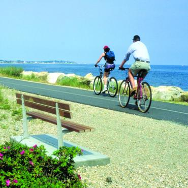 Cyclists Cape Cod