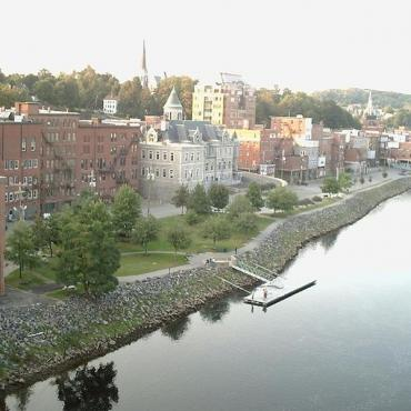 River view of Augusta ME