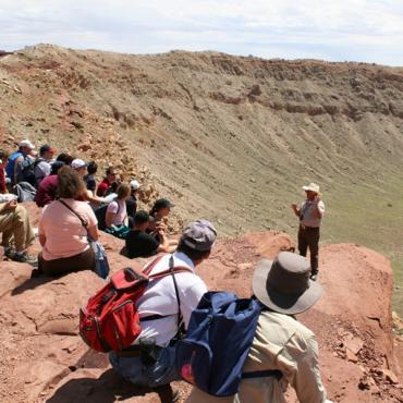 meteor crater tour AZ