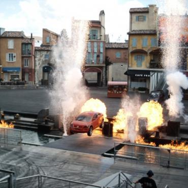 Stunt show Universal CA