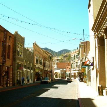 Main street Bisbee AZ