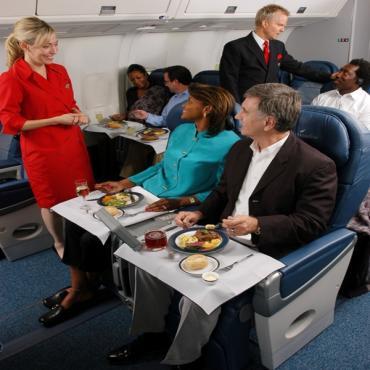 Delta Business class service