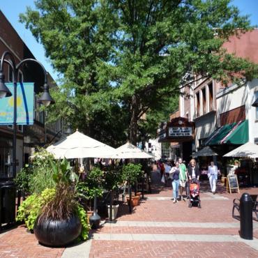 Charlottesville VA downtown