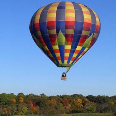 Hot Air ballooning Shenandoah Valley