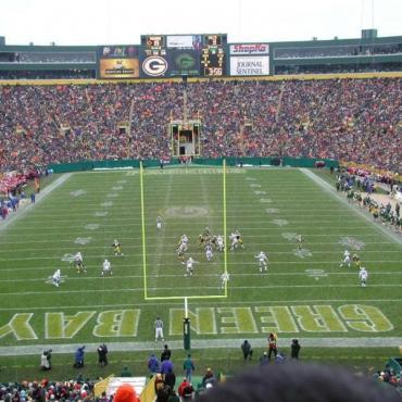 Lambeau field Wisconsin