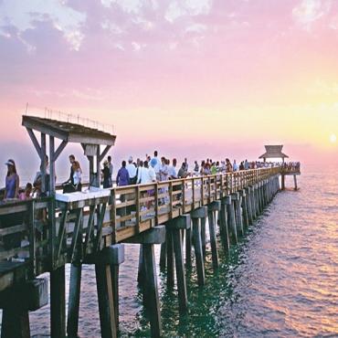 Naples fishing pier FL