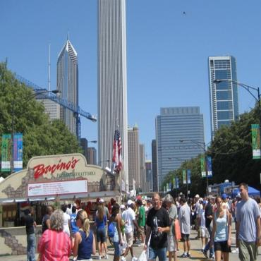 Taste of chicago festival IL