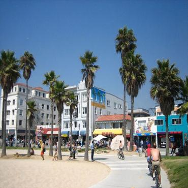 Venice beach & boardwalk