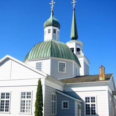 Russian church Sitka