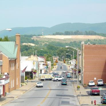 Downtown Waynesboro VA
