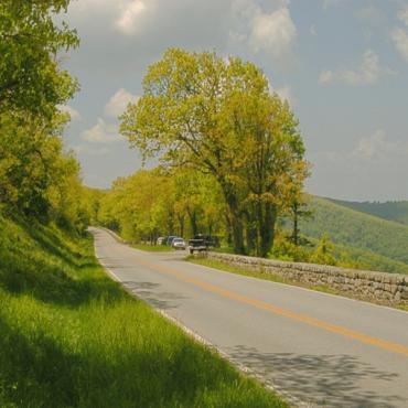 Skline drive Shenandoah NP