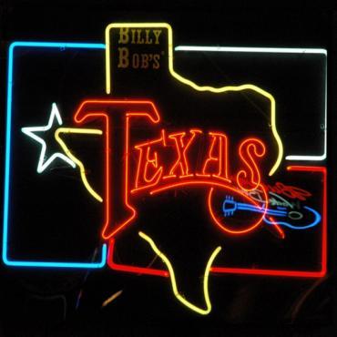 Billy Bobs sign TX