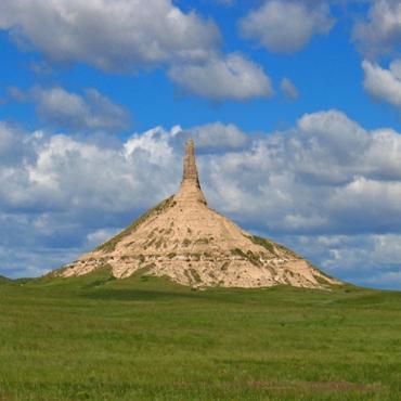 ChHimney Rock Nebraska