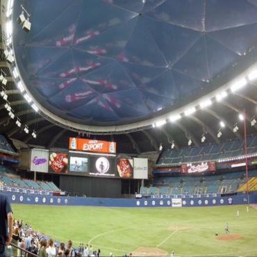 Interior Olympic Stadium Montreal