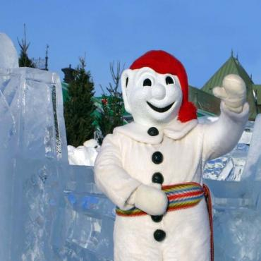 Winter Carnival snowman