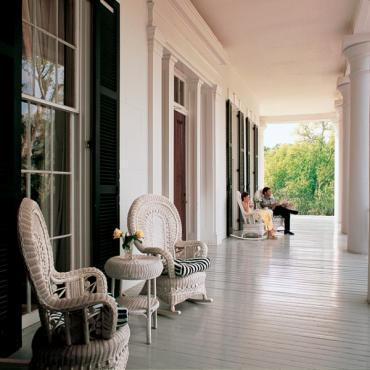 Mississippa Mansion POrch