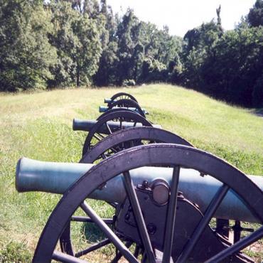 Cannons Vicksburg