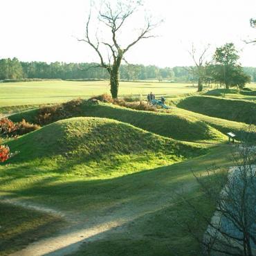 Yorktown battlefield VA