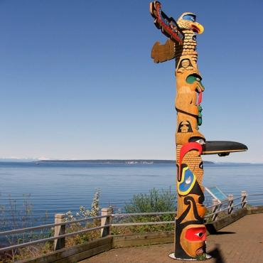 Powell River and Totem Pole