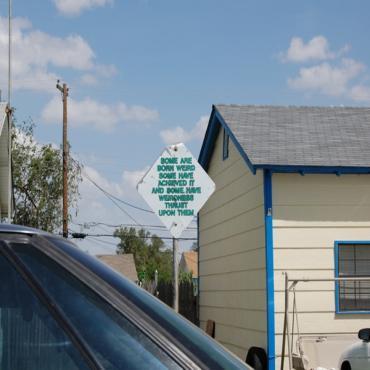 Amarillo street sign