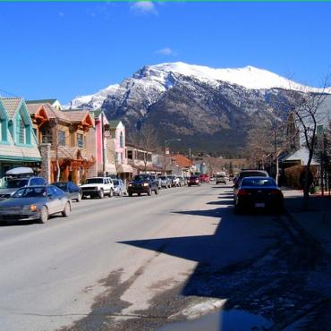 Mian Street Canmore