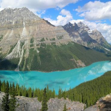 Icefields Parkway/Peyto lake view