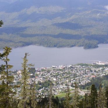 Prince Rupert valley view