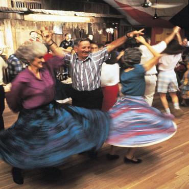 Cajun Dancers