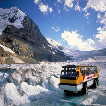 Icefields snowcoach Jasper