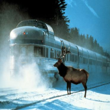 VIA snowtrain Jasper