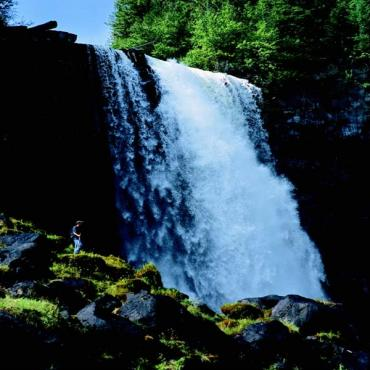 Waterfall Cariboo Chilcotin coast