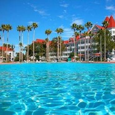 DIsney Grand Floridian pool