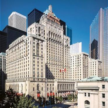 The Fairmont Royal York, Toronto, Exterior