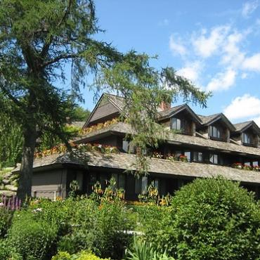 Trapp Family Lodge, Exterior