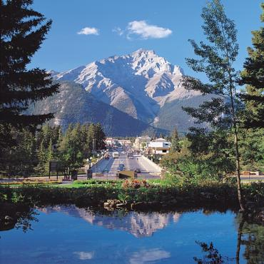 Mountain view Banff