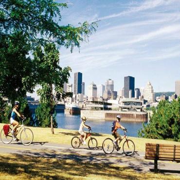 Montreal biking