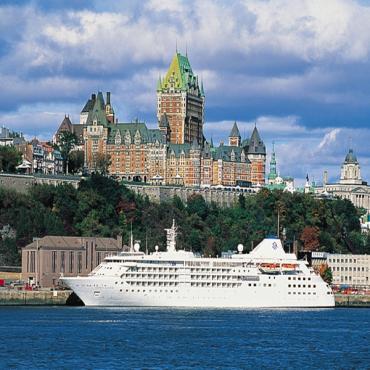 Silversea ext ship Quebec