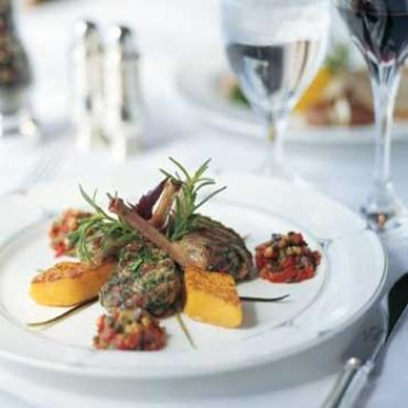 Food gourmet plate