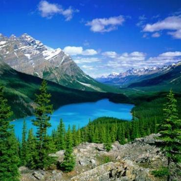 Banff NP scenic