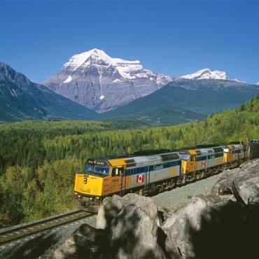 Via Rail scenic train