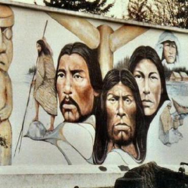 Chemainus BC mural