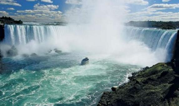 Niagara, Horseshoe falls