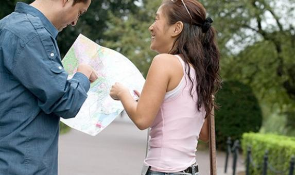 couple map reading