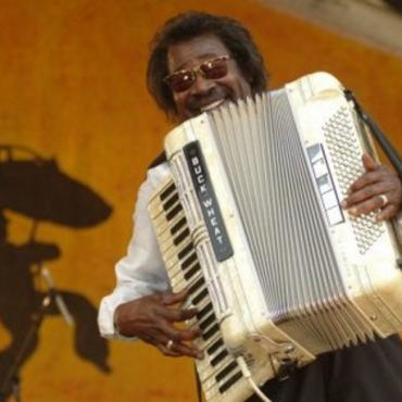 Lafayette accordion player