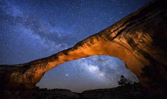 Utah Dark sky star gazer