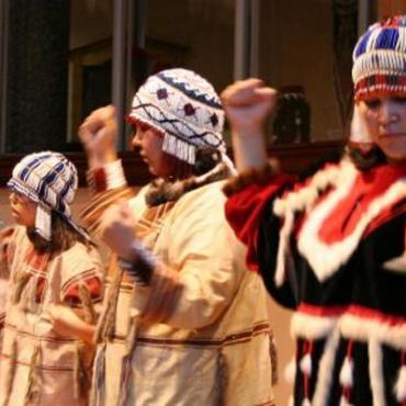 Alaskan dancers